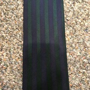 Structure Striped Silk Tie